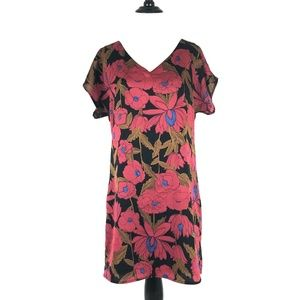 Forever 21 Asian Inspired Shift Dress Size Small